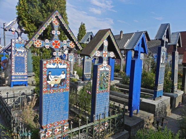 Merry Cemetery of Sapanta, Maramures