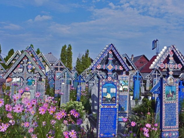 The Merry Cemetery of Sapanta