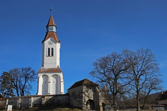 Bunesti Fortified Church, Transylvania, Romania