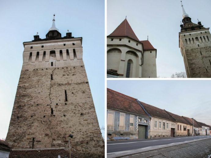 Saschiz Fortified Saxon Church, Transylvania, Romania