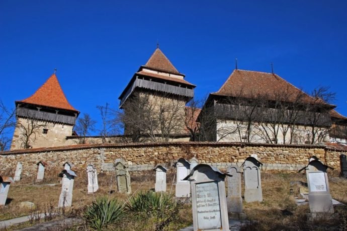 Viscri Medieval Saxon Fortified Church, Romania