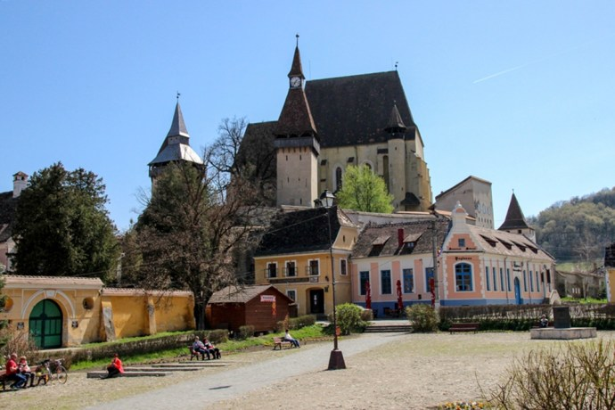 Biertan Fortified Church, Transylvania, Romania