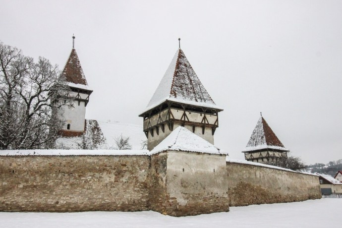 Cincsor Fortification, Brasov, Romania