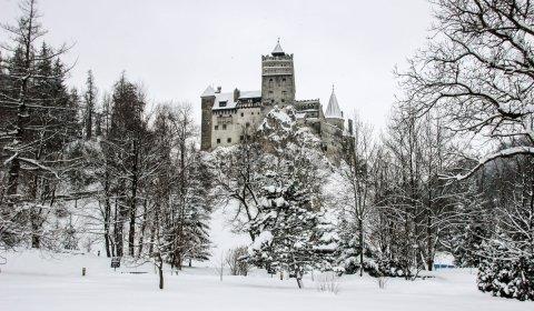 Bran Castle, Southern Carpathians, Romania