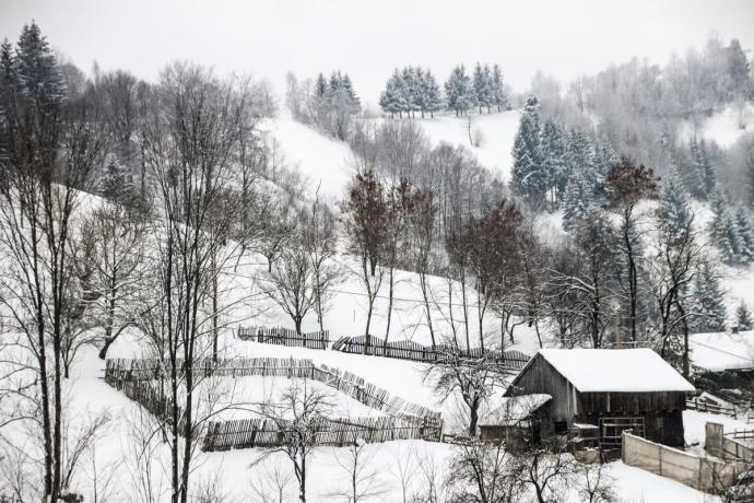 Moieciu de Jos, Brasov, Southern Carpathians, Romania