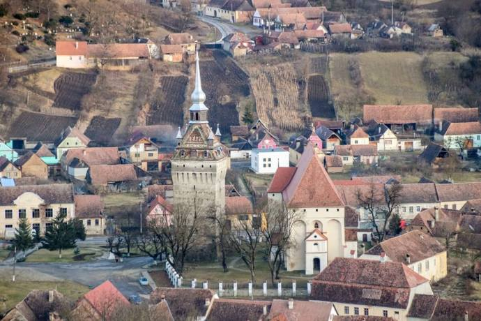 Saschiz Fortified Church, Transylvania, Romania