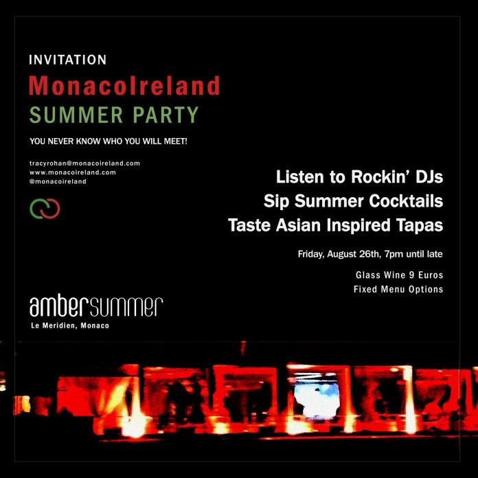 Monaco Ireland Summer Party