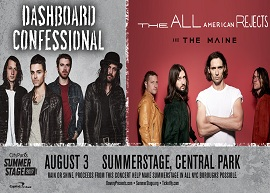 Dashboard Confessional / The All-American Rejects / The Maine