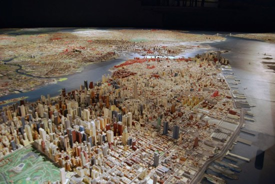 Panorama of the City of the New at the Queens Museum