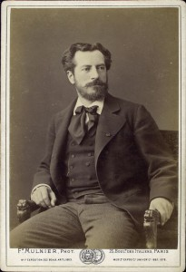 Portrait of Sculptor, Frederic Auguste Bartholdi, c. 1878