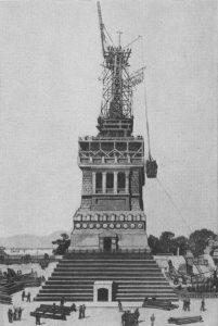 liberty under construction