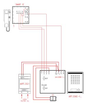 Videx SMK1S 1 Way Access Control Audio Kit