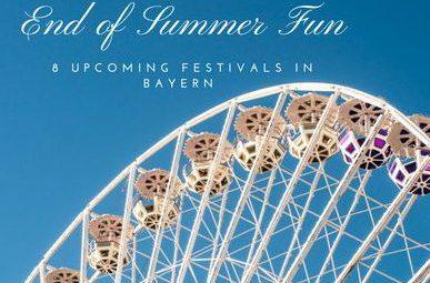 Top Summer Festivals in Bayern