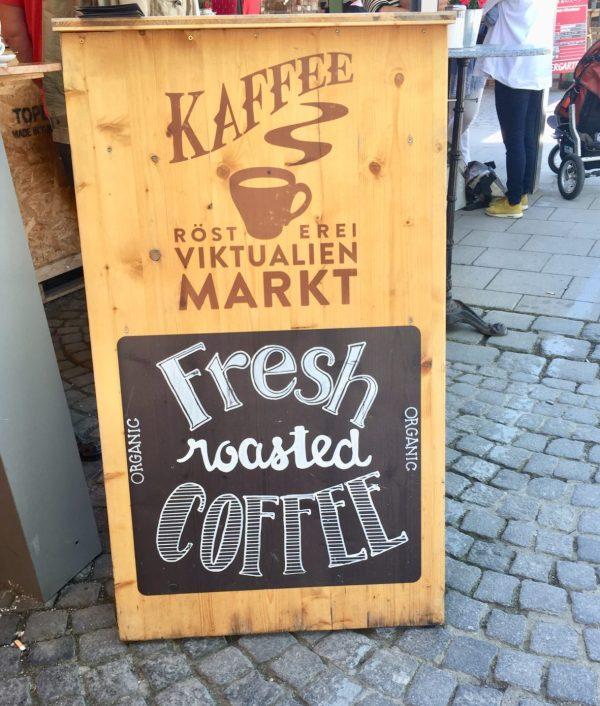 Kaffee at Virktualienmarkt