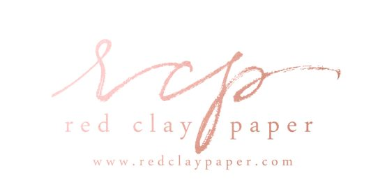 Red Clay Paper Calligraphy