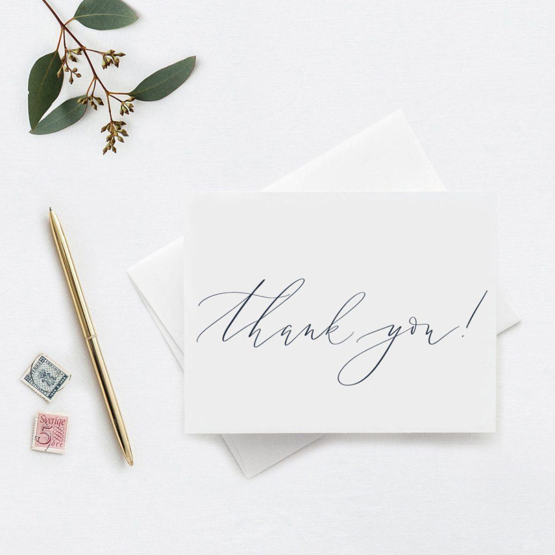 Calligraphy- Thank You