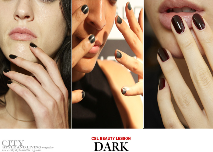 City Style And Living Nail Trends Spring 2017 Dark