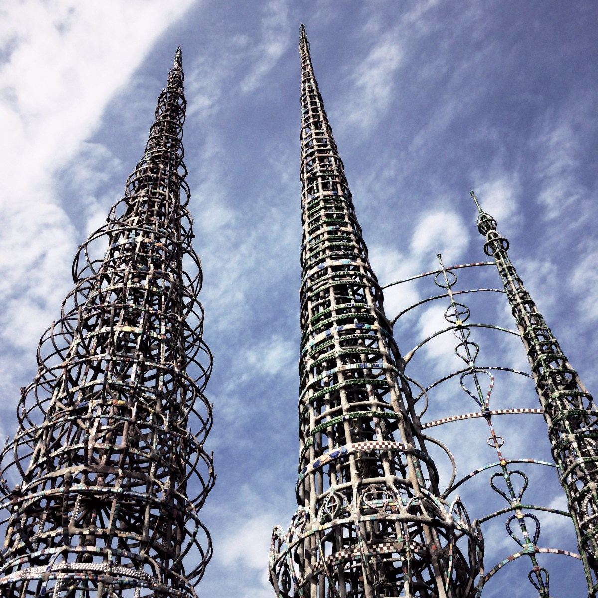 美國西岸長征遊記 - Watts Towers, Los Angeles