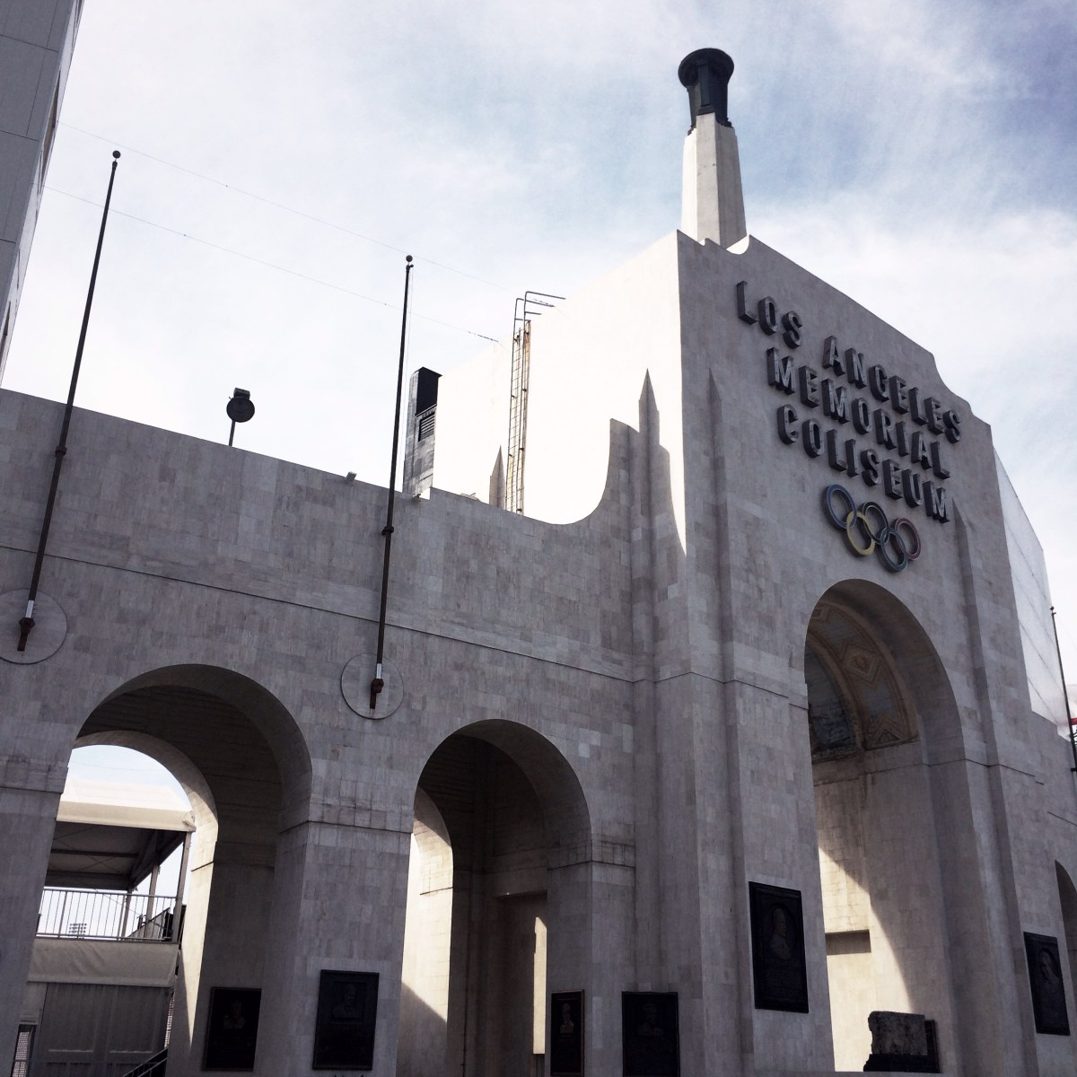 美國西岸長征遊記 – Los Angeles Memorial Coliseum, Los Angeles