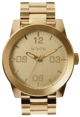Nixon Corporal SS All Gold A346-502-00 Mens Watch