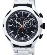 Swatch Irony Xlite Black Energy Chorongraph Quartz YYS4000AG Men's Watch
