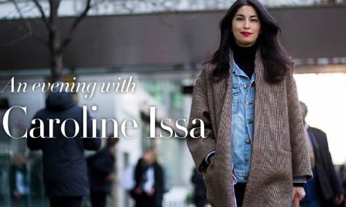 An evening with Caroline Issa, talking fashion and philanthropy