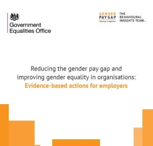 employers gender pay gap actions
