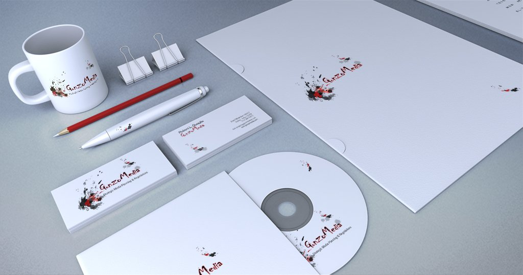 Ad agency stationery & branding