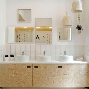 déco meubles de salle de bains en osb