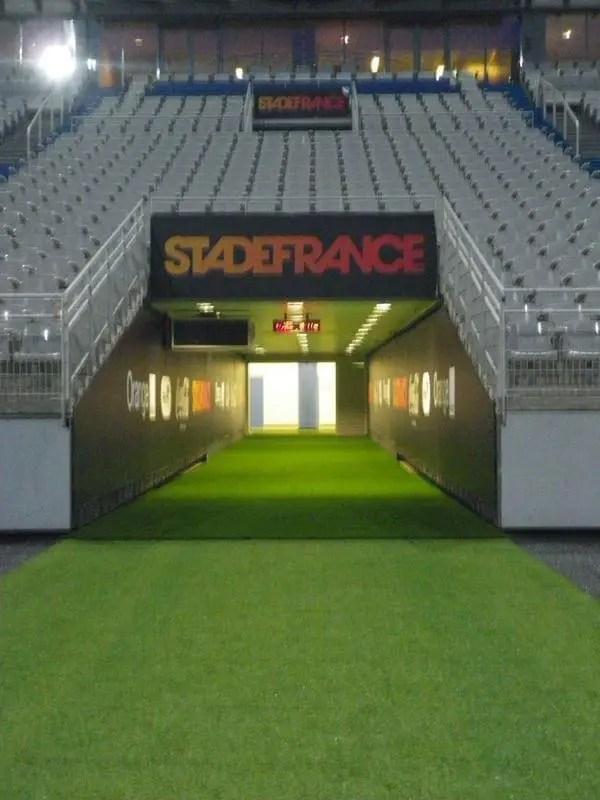 Dans Les Coulisses Du Stade De France