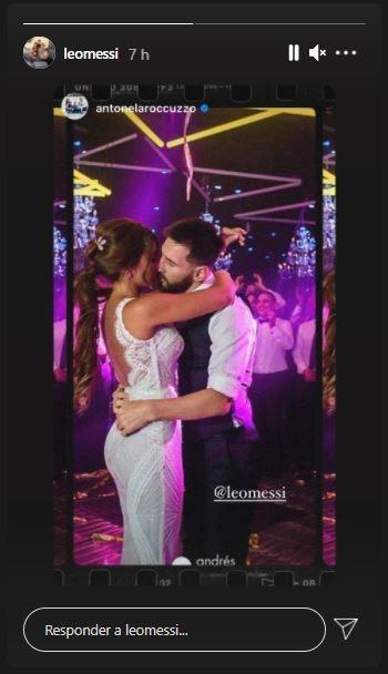 """El tierno mensaje de Antonella Roccuzzo a Lionel Messi en su cuarto aniversario de casados: """"Por muchos más años juntos"""""""