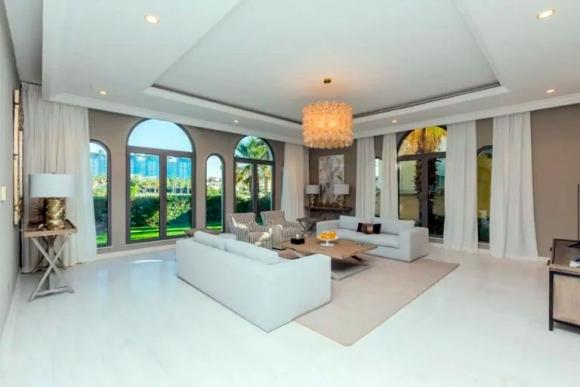 Así es la mansión donde Diego Maradona y Rocío Oliva vivían en Dubai, que hoy está en alquiler