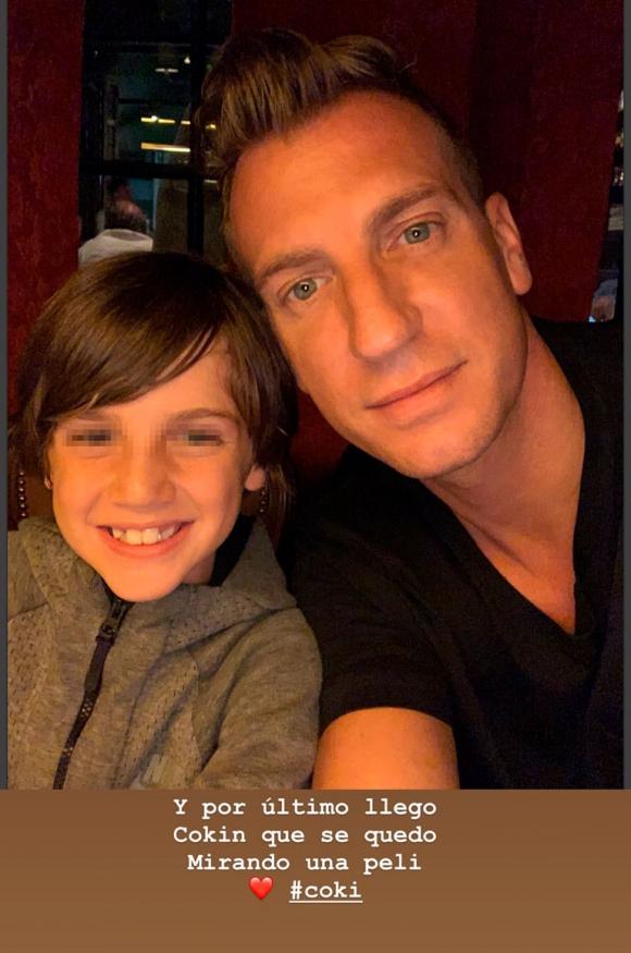 """Las imágenes del emotivo reencuentro de Maxi López con sus hijos: """"Queremos todos los mimos"""""""