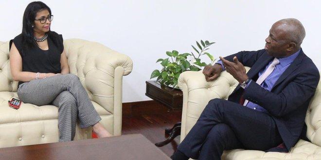 Canciller Rodríguez sostuvó reunion con candidato togolés a la Presidencia del Fida