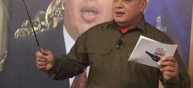 Diosdado Cabello: El que quiera ayudar lo primero que tiene que hacer es respetar esta Patria