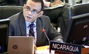 NICARAGUA:  Venezuela está siendo linchada políticamente con acciones desestabilizadoras desde la OEA