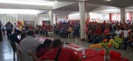 Congreso de voceros obreros en la Casa del Proletariado