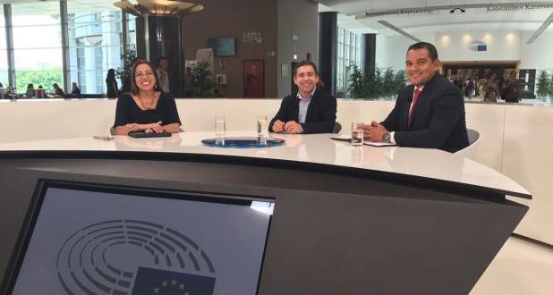 (+Audio) Denuncian ante Parlamento Europeo acciones terroristas de la oposición