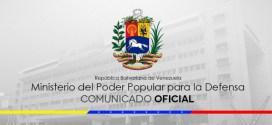 (+Comunicado) Ministro para la Defensa: Nuestros trabajadores son garantía de la continuidad de un proyecto nacional