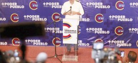 Héctor Rodríguez insta al pueblo a elegir el camino de la paz el próximo domingo 30J