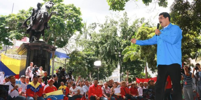 (+Video) Presidente Maduro sostuvo primera reunión con Comando Constituyente