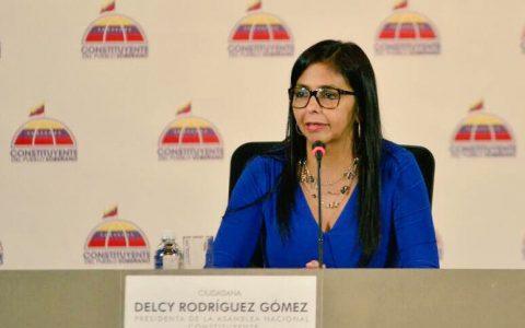 """Presidenta de la ANC: «En Venezuela se está jugando el modelo ejemplar para la emancipación de la humanidad"""""""