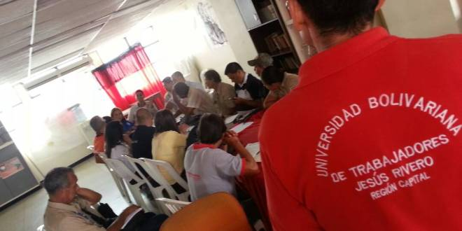 Trabajadores de la Cadena Productiva del Agua se reunieron en Lara