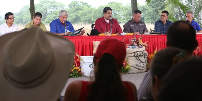 Presidente Maduro autorizó creación de AgroSur para impulsar empresas productivas del país