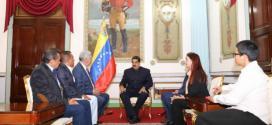 Presidente Maduro se reunió con gobernadores adecos