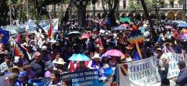 Bolivianos piden reelección de Morales, 'el mejor para gobernar'