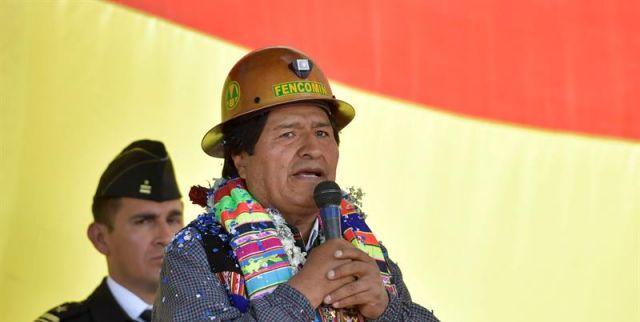 Presidente de Bolivia destaca avance del Frente Amplio en Chile