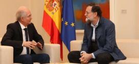 Comunicado: Gobierno rechaza acción de Mariano Rajoy por recibir al prófugo Antonio Ledezma
