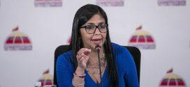 Delcy Rodríguez: Las graves irregularidades de CITGO están a la orden de la guerra económica