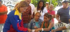 Candidata de la Esperanza en Morán ejerció su derecho constitucional